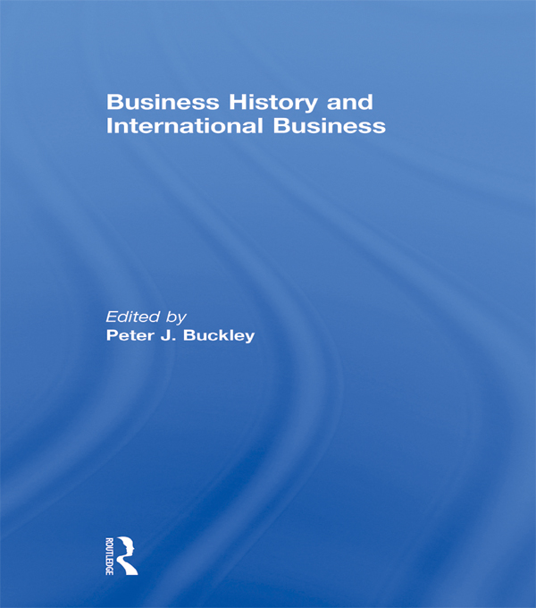 Business History and International Business