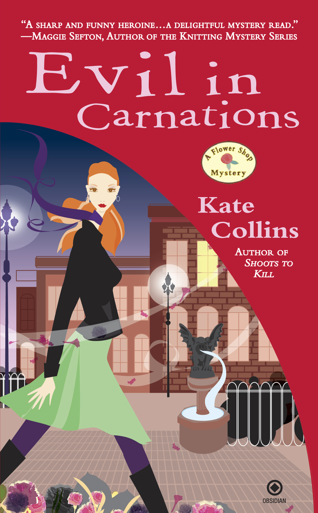 Evil In Carnations By: Kate Collins