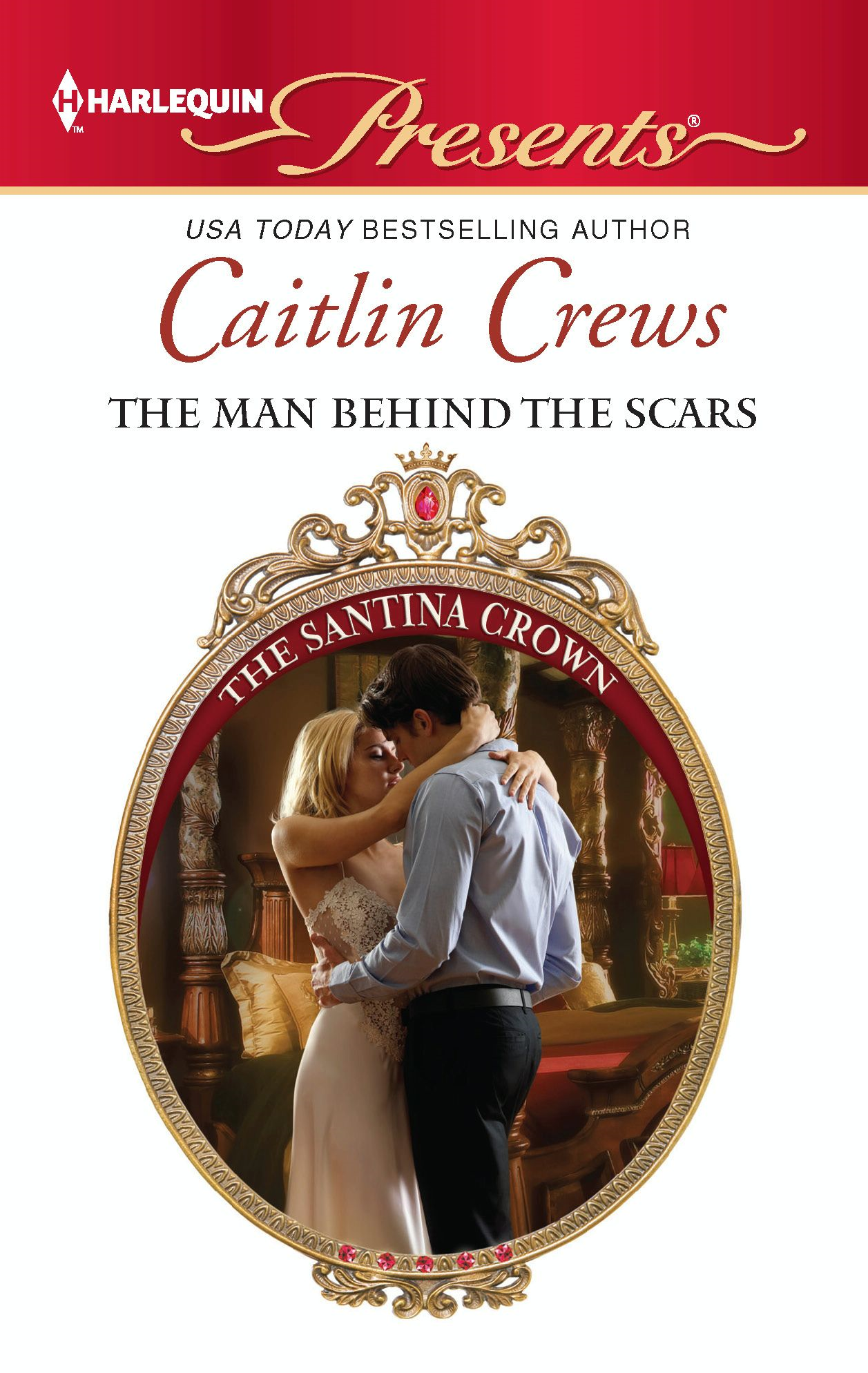 The Man Behind the Scars By: Caitlin Crews