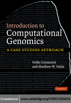 Intro Computational Genomics