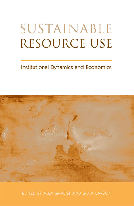 Sustainable Resource Use Institutional Dynamics and Economics