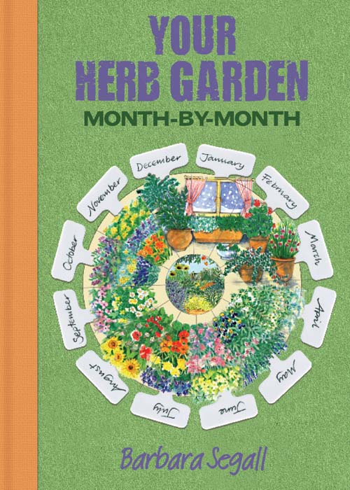 Herb Garden month by month