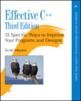 Effective C++: 55 Specific Ways to Improve Your Programs and Designs By: Scott Meyers