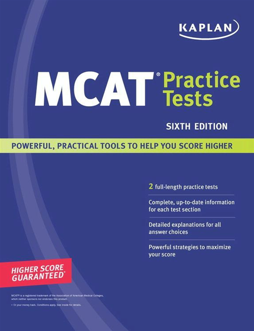 Kaplan MCAT Practice Tests By: Kaplan