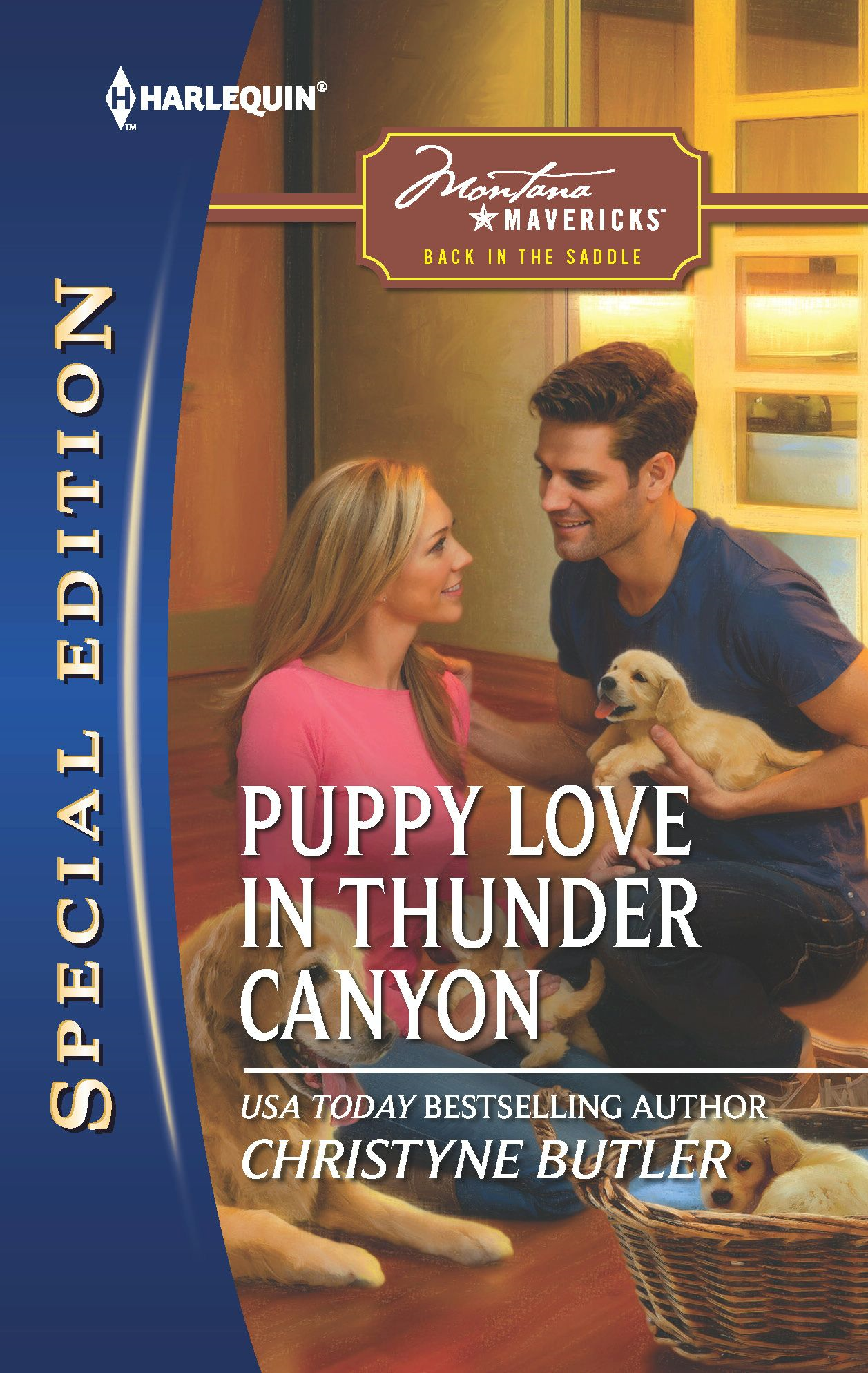 Puppy Love in Thunder Canyon By: Christyne Butler