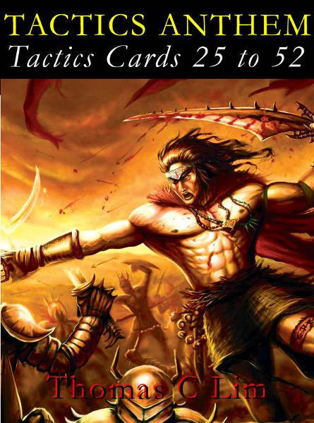 TACTICS ANTHEM: Tactics Cards 25 to 52