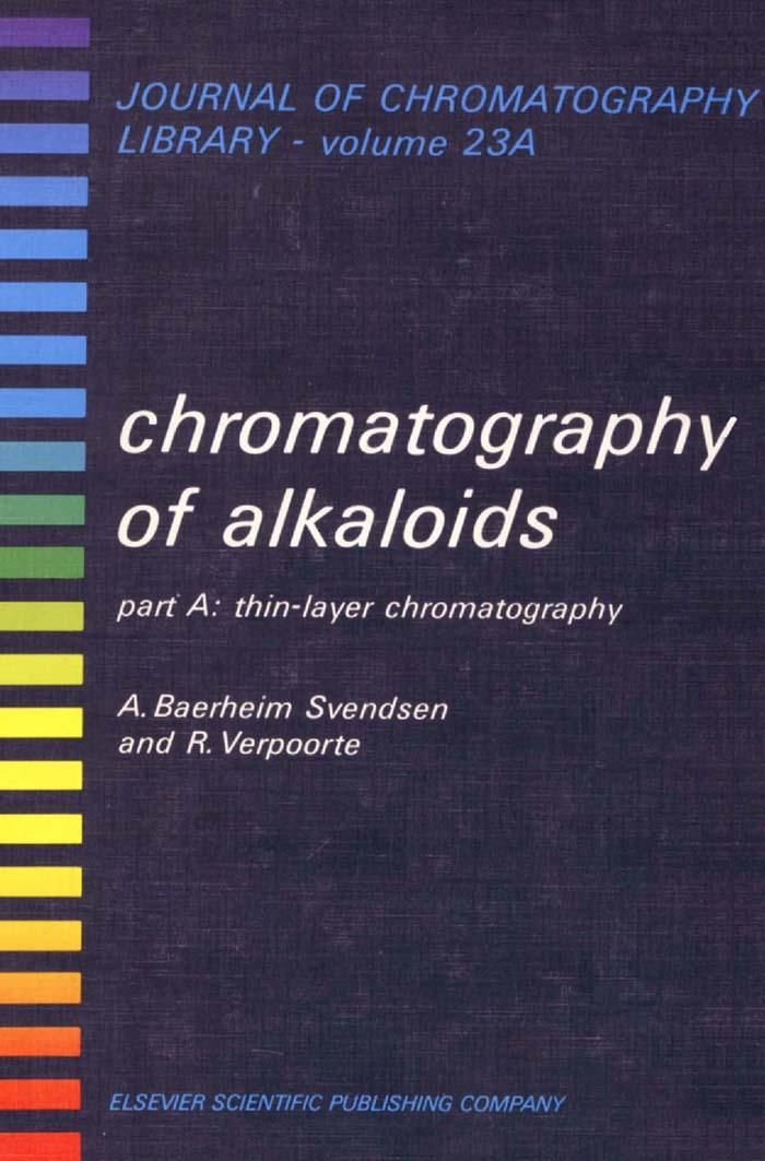 CHROMATOGRAPHY OF ALKALOIDS, PART A: THIN-LAYER CHROMATOGRAPHY