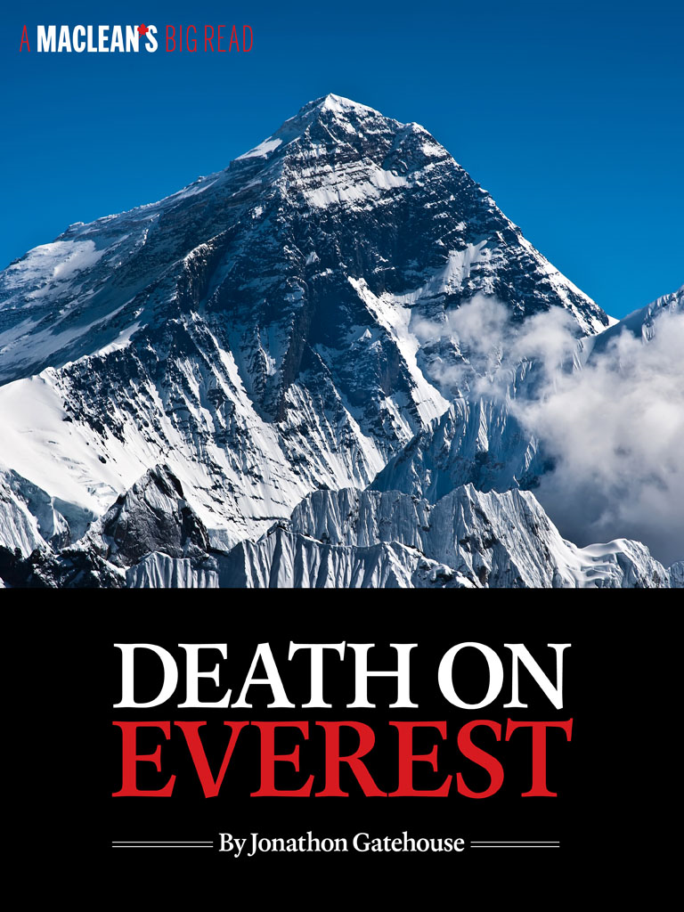 Death on Everest By: Jonathon Gatehouse