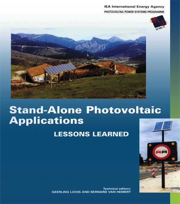 Stand-Alone Photovoltaic Applications Lessons Learned