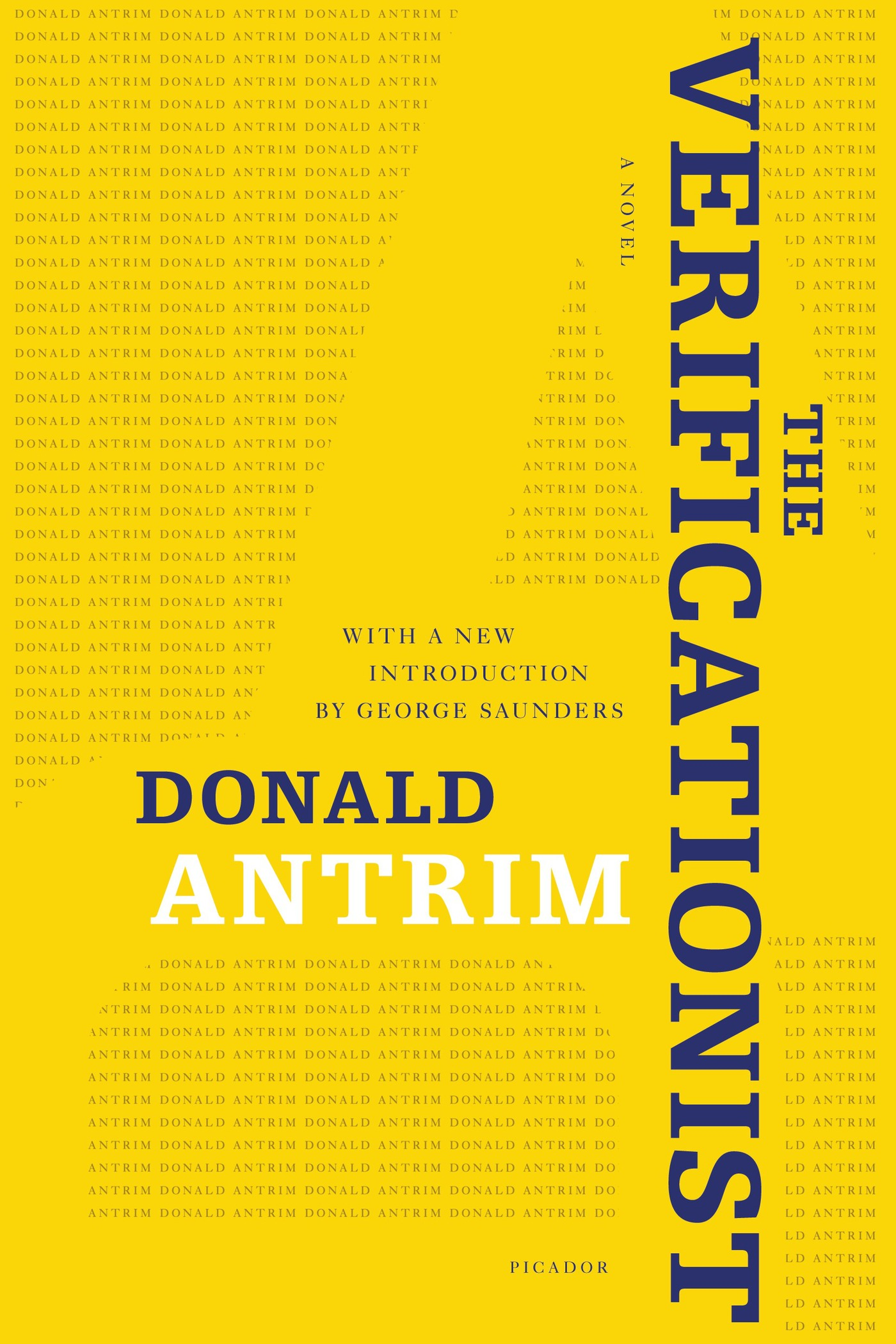 The Verificationist By: Donald Antrim
