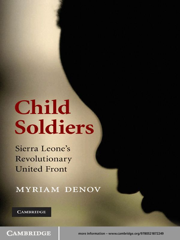Child Soldiers Sierra Leone's Revolutionary United Front