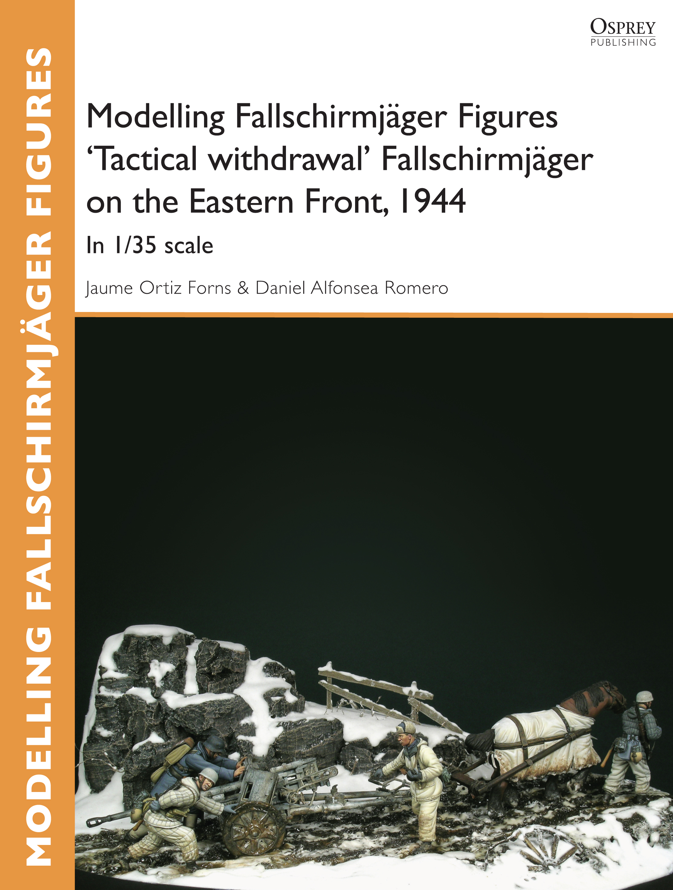 Modelling Fallschirmj�ger Figures 'Tactical withdrawl' Fallschirmj�ger on the Eastern Front,  1944: In 1/35 scale