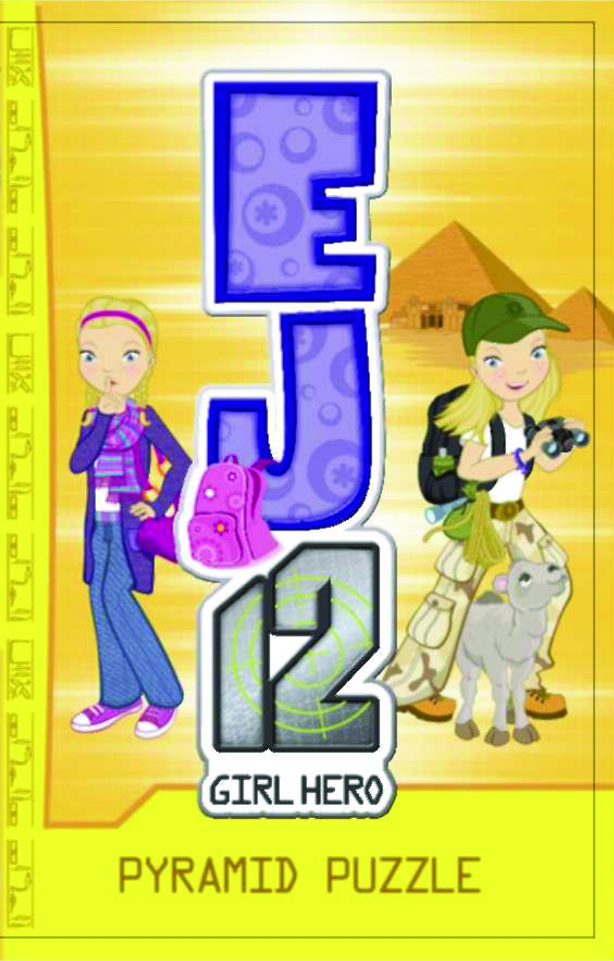 EJ12 Girl Hero 10  Pyramid Puzzle