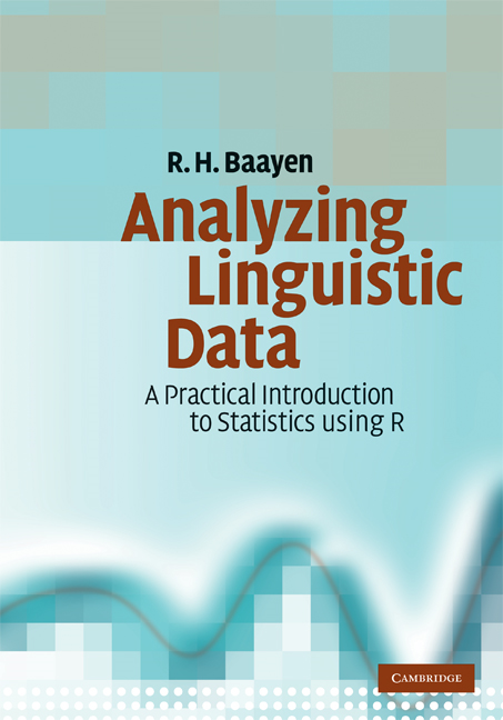 Analyzing Linguistic Data A Practical Introduction to Statistics using R