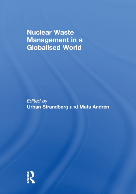 NUCLEAR WASTE MANAG IN GLOBAL WORLD