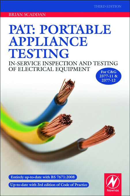 PAT: Portable Appliance Testing