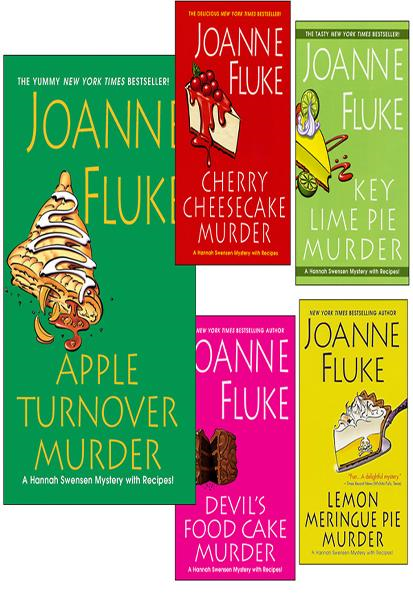 Apple Turnover Murder Bundle with Key Lime Pie Murder, Cherry Cheesecake Murder, Lemon Meringue Pie Murder, and an EXTENDED excerpt of Devil's Food Cake Murder By: Joanne Fluke