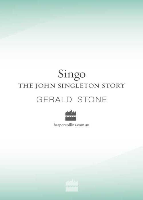 Singo The John Singleton Story By: Gerald Stone
