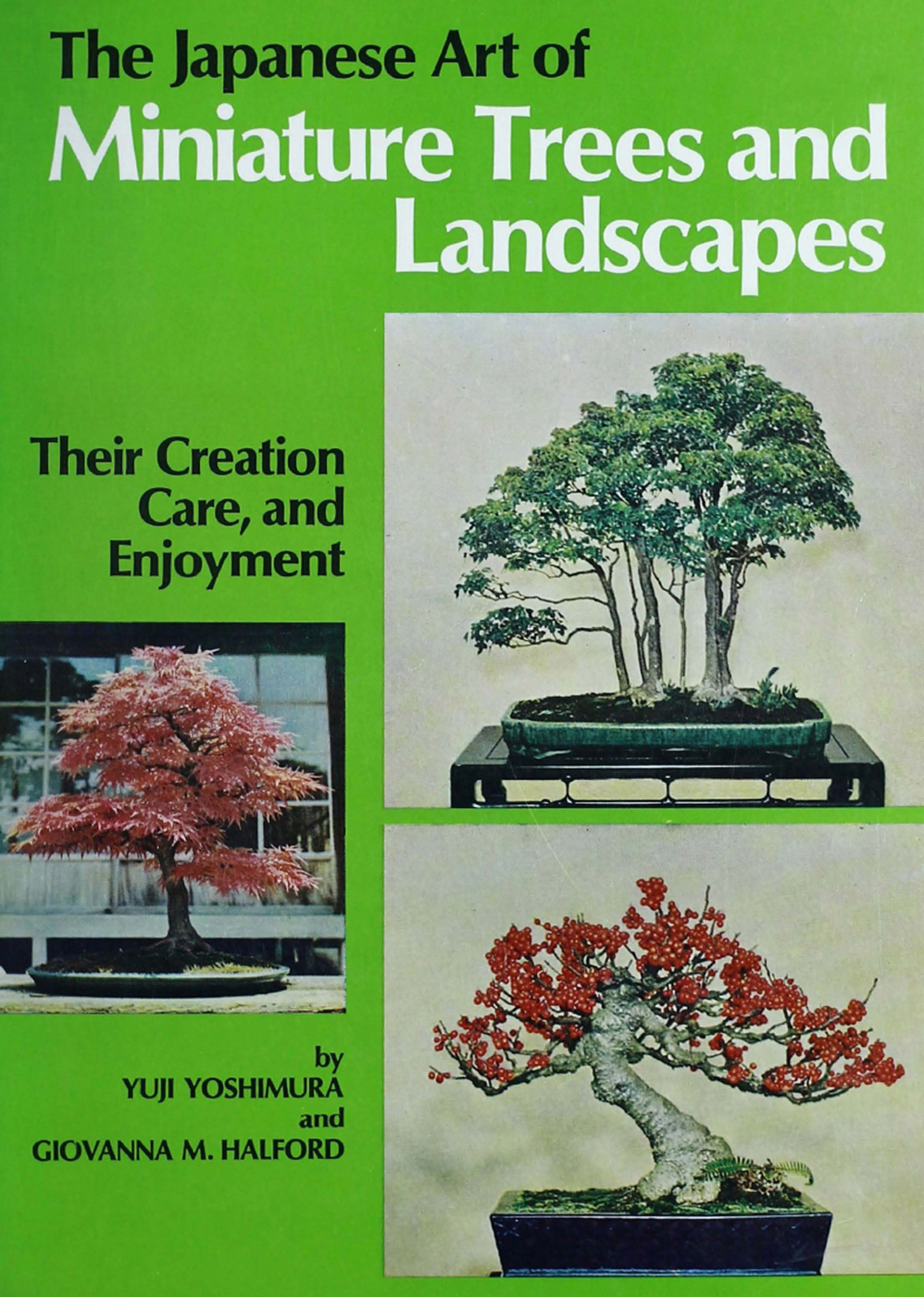 The Japanese Art of Minature Trees and Landscapes