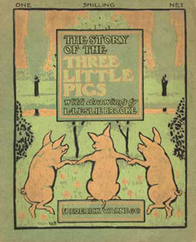 THE STORY OF THE THREE LITTLE PIGS With drawings