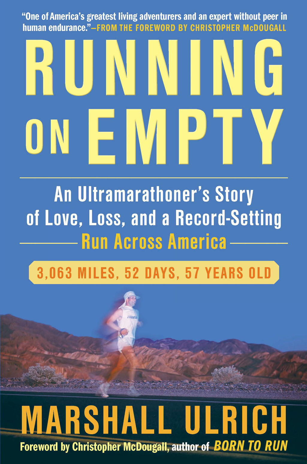 Running on Empty By: Marshall Ulrich