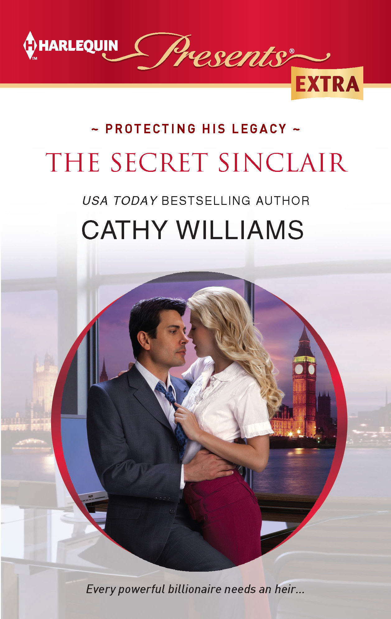 The Secret Sinclair By: Cathy Williams