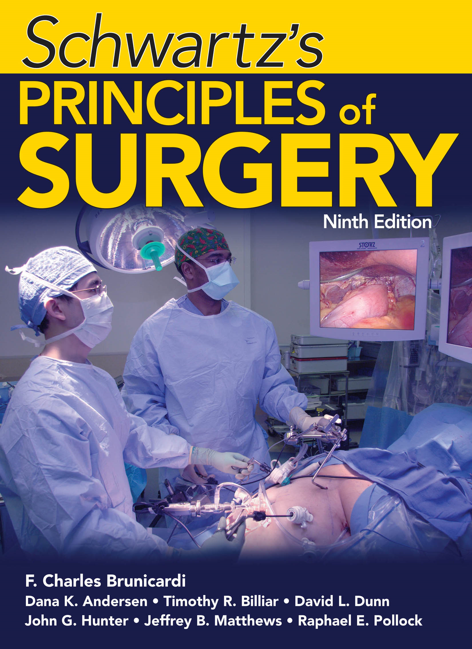 Schwartz's Principles of Surgery, Ninth Edition