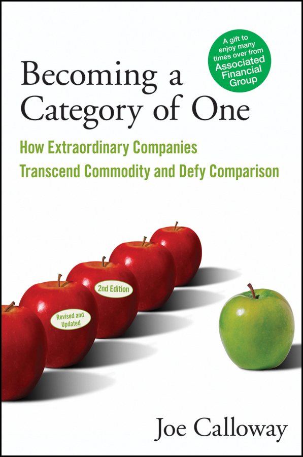 Becoming a Category of One By: Joe Calloway