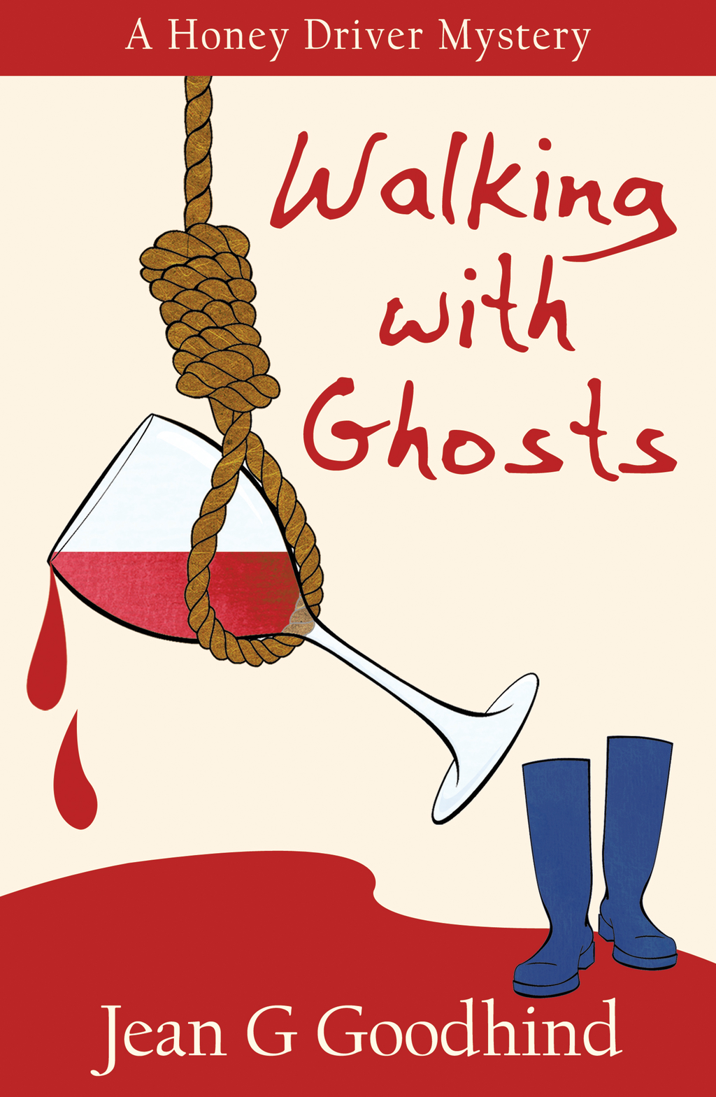 Walking with Ghosts - A Honey Driver Murder Mystery