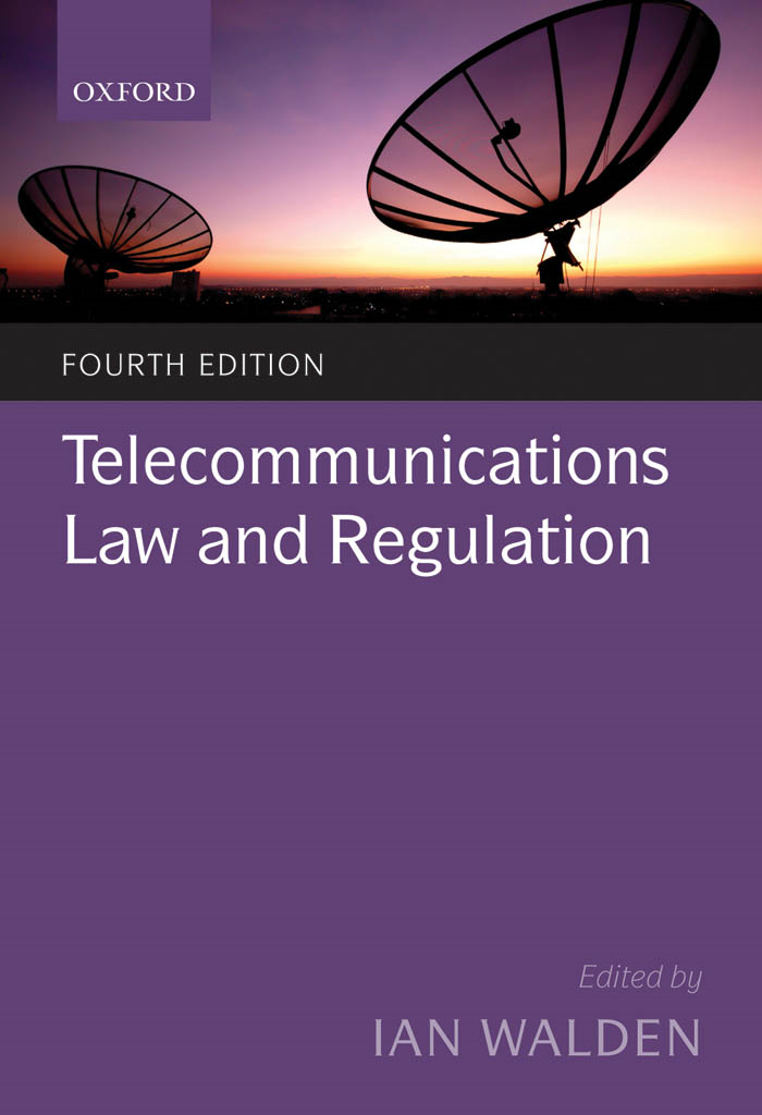 Telecommunications Law and Regulation By: