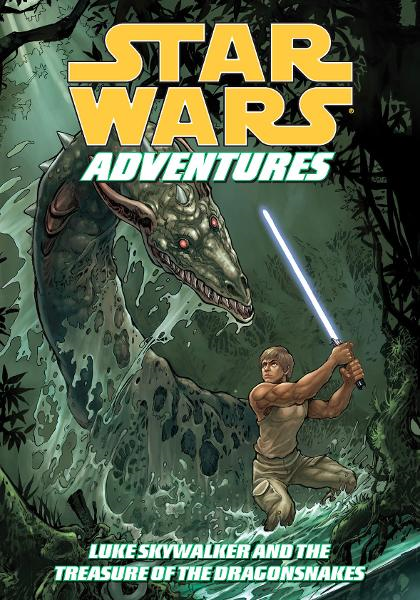 Star Wars Adventures: Luke Skywalker and the Treasure of the Dragonsnakes By: Tom Taylor, Daxiong (Artist)