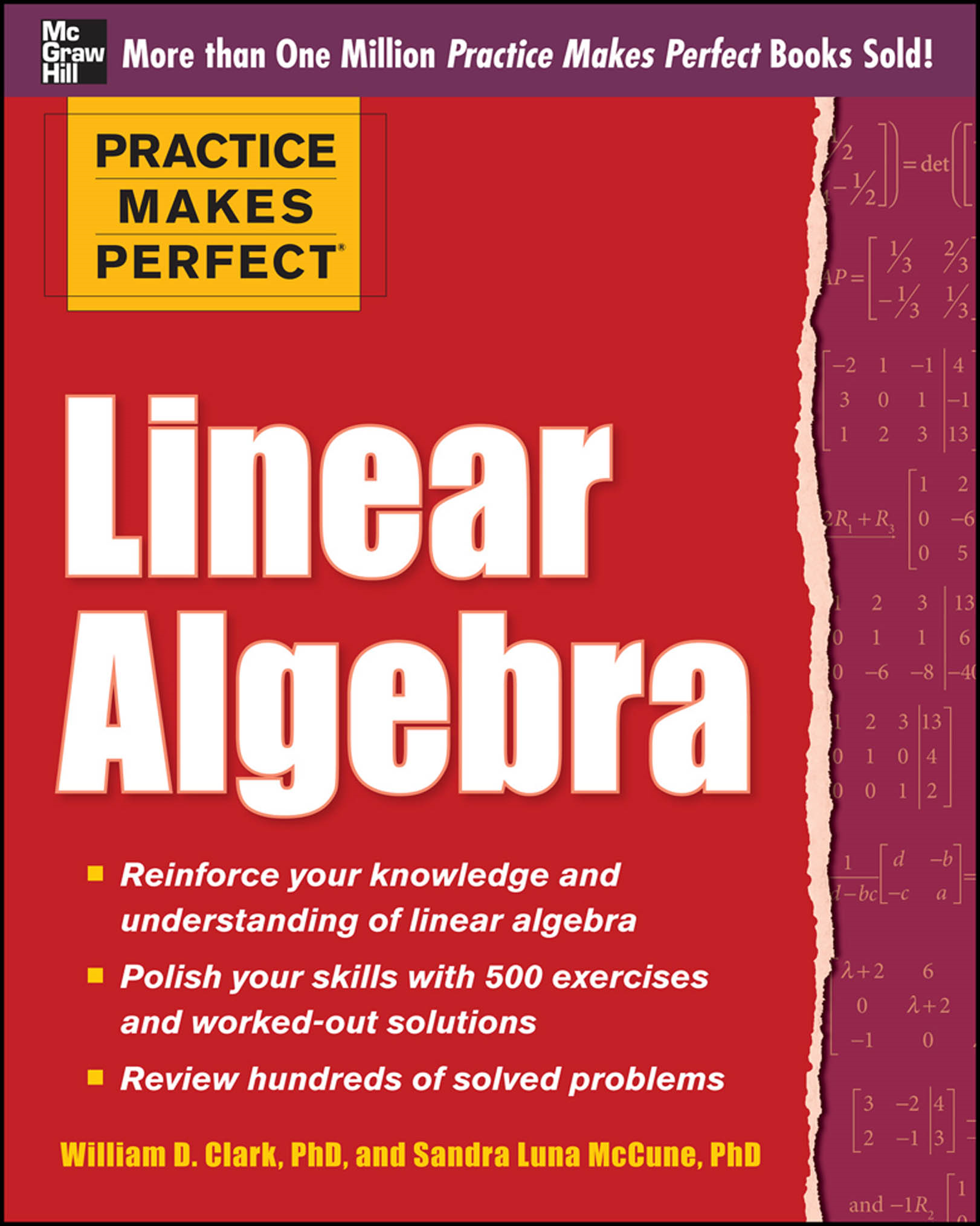Practice Makes Perfect Linear Algebra