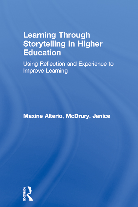 Learning Through Storytelling in Higher Education