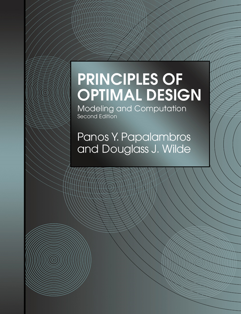 Principles of Optimal Design Modeling and Computation