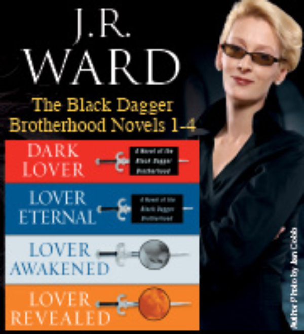 J.R. Ward The Black Dagger Brotherhood Novels 1-4 By: J.R. Ward