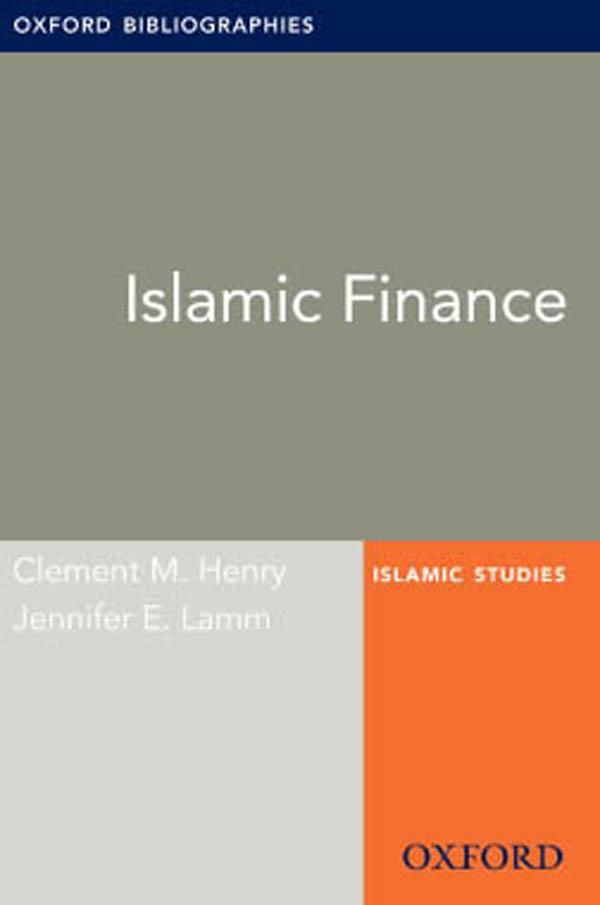Islamic Finance: Oxford Bibliographies Online Research Guide