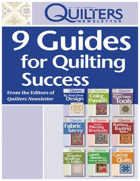 9 Guides for Quilting Success