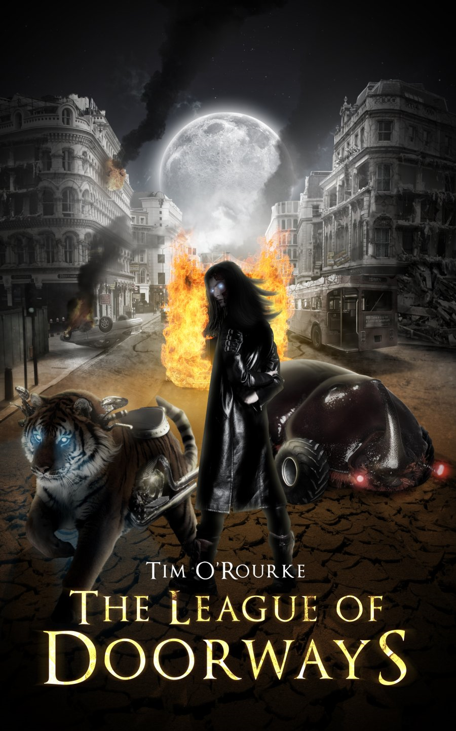 The League Of Doorways (A Book Of Vampires, Werewolves & Black Magic)