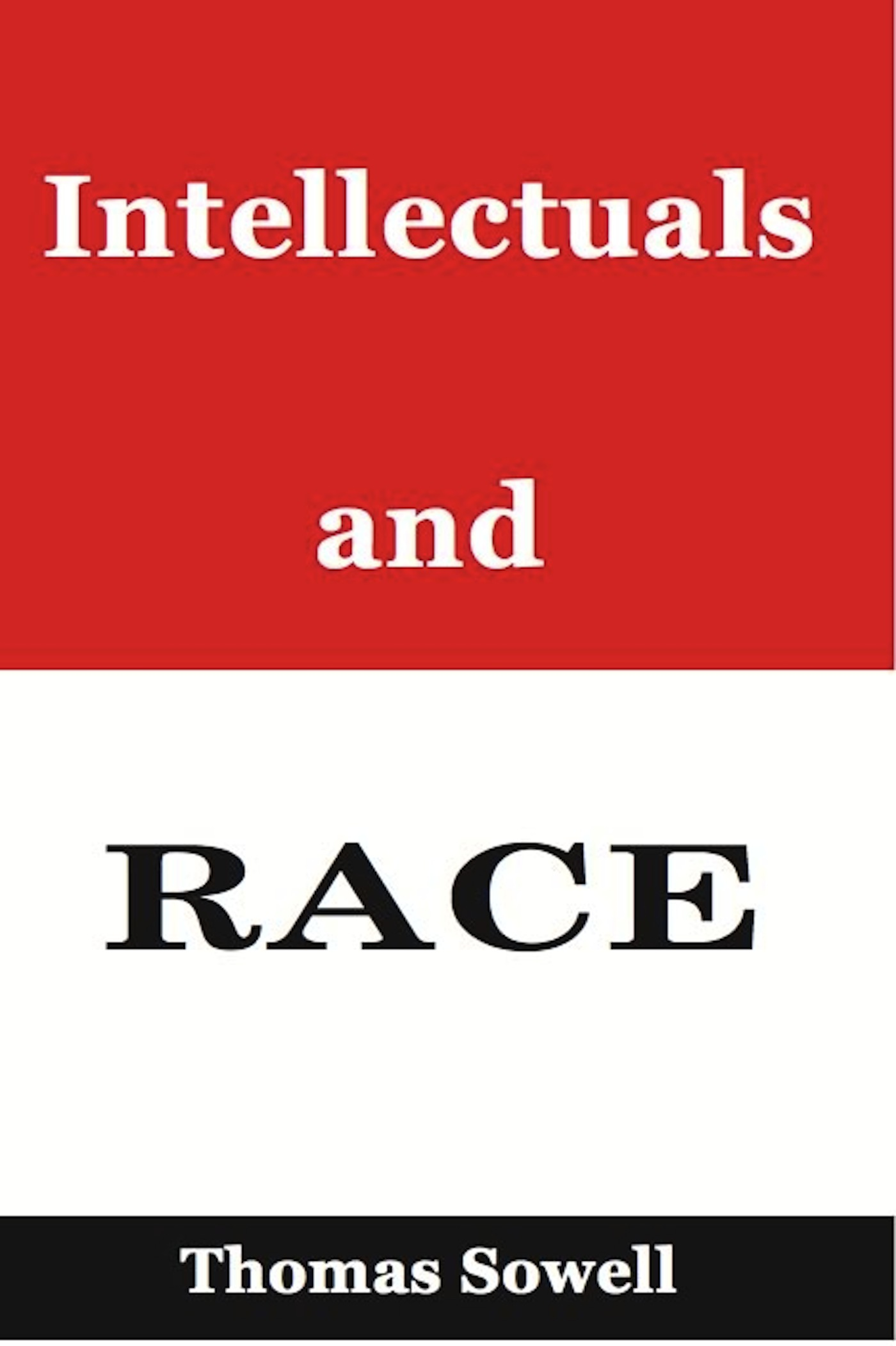 Intellectuals and Race