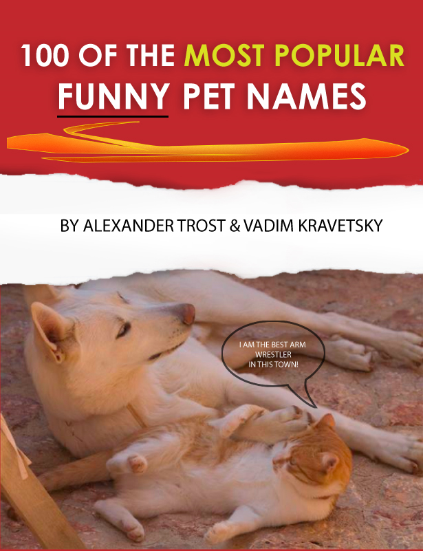 100 of the Most Popular Funny Pet Names