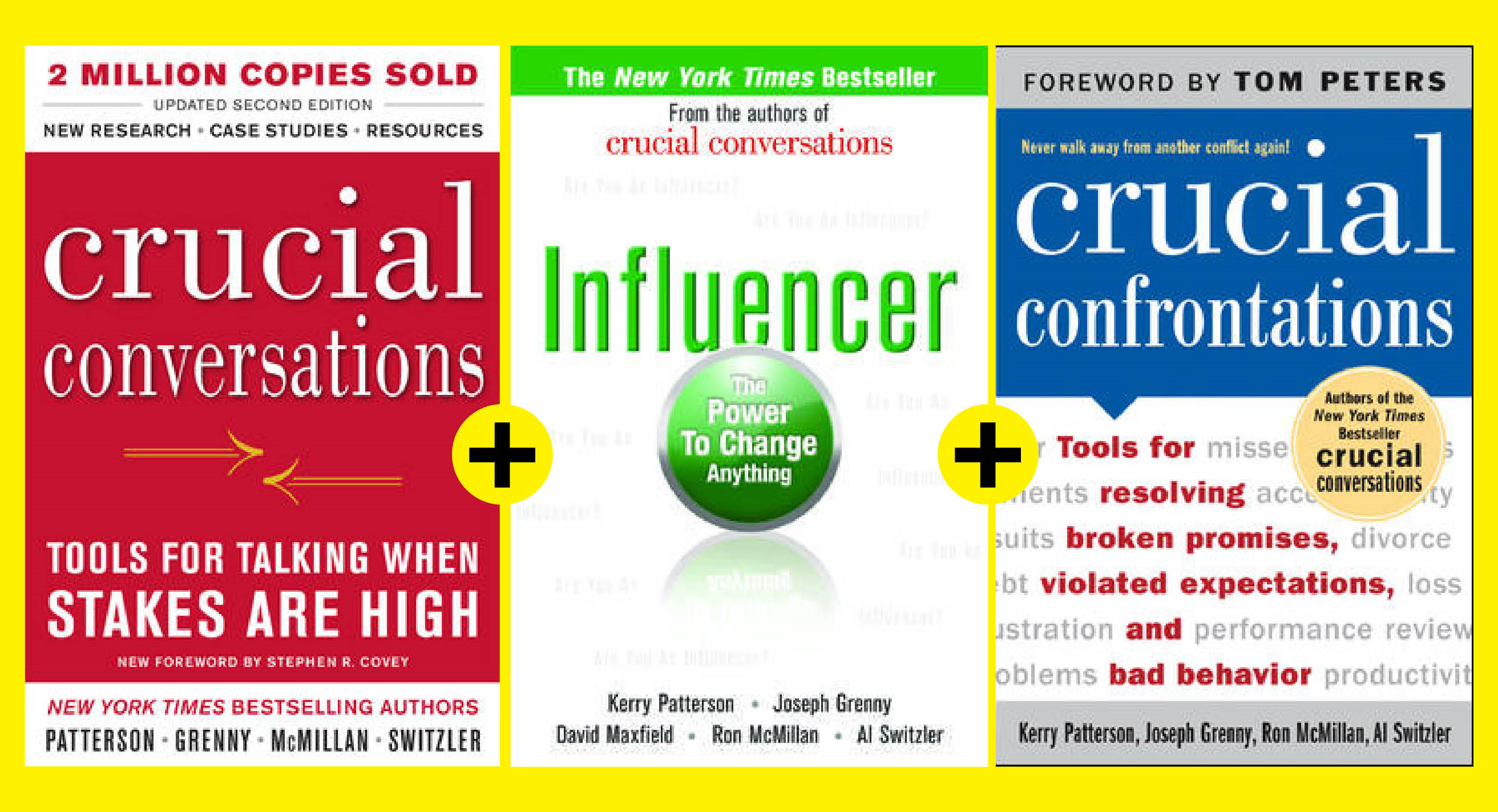 Crucial Skills and Influence Strategies (EBOOK BUNDLE)