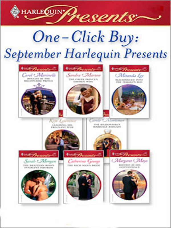 One-Click Buy: September Harlequin Presents