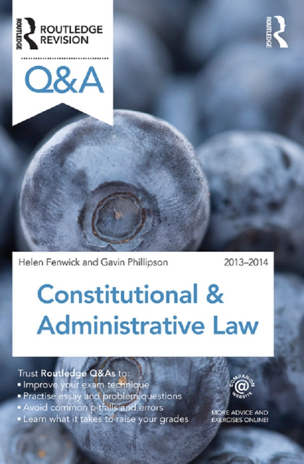 Q&A Constitutional & Administrative Law 2013-2014