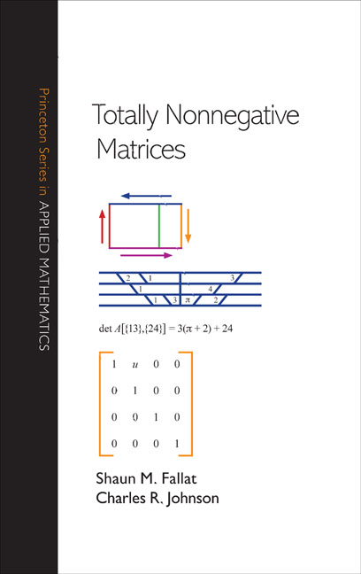 Totally Nonnegative Matrices