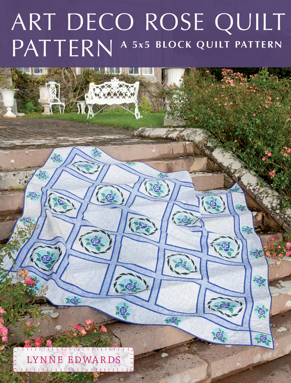 Art Deco Rose Quilt Pattern A quick & easy quilting project