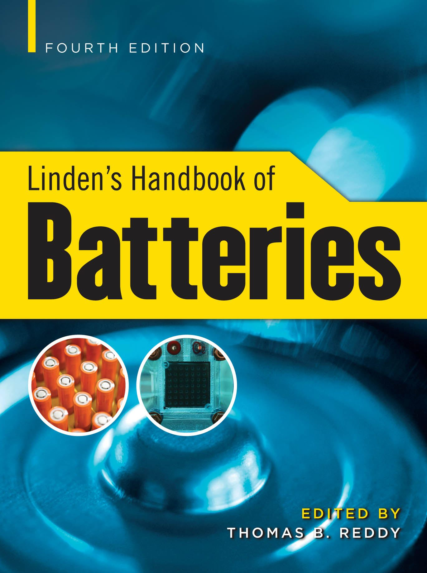 Linden's Handbook of Batteries, 4/e (SET 2)