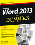 Word 2013 For Dummies:
