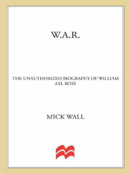 W.A.R. By: Mick Wall
