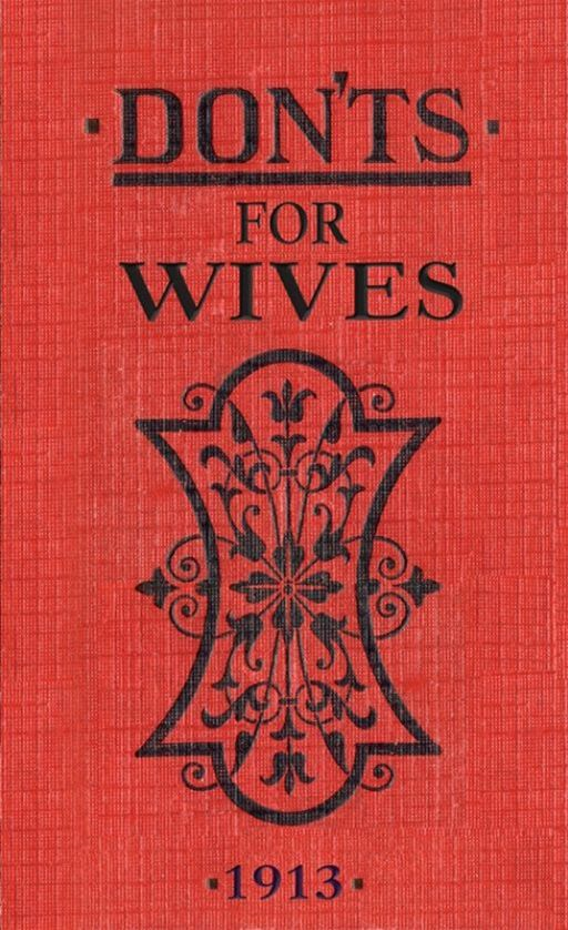 Don'ts For Wives: Ebook ePub By: Blanche Ebbutt