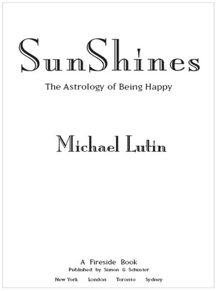 SunShines By: Michael Lutin